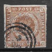 Danemark 1854 - Thieles III - Oblitéré