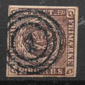 Danemark 1853 - Thieles IIa - Oblitéré