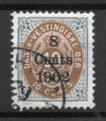 Deens-West-Indië  - AFA 21 - Gebruikt