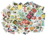 100 sellos Flora diferentes