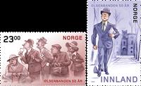 Norge - Olsenbanden - Postfrisk sæt 2v