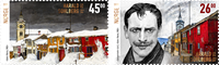 Norge - Harald Sohlberg - Postfrisk sæt 2v