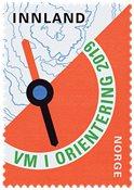 Norway - Orienteering Championship - Mint stamp