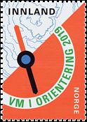 Norge - VM Orienteringsløb - Postfrisk frimærke