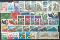 France - 16 séries timbres de service