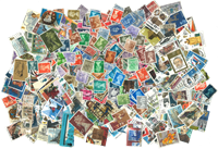 Great Britain - 500 different stamps