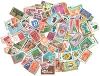 Indonesien - Frimærkepakke - 500 forskellige
