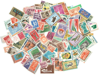 Indonésie - Paquet de timbres - 500 différents