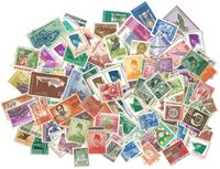 Indonesien - Frimærkepakke - 200 forskellige