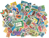 Suriname - Paquet de timbres - 200 différents