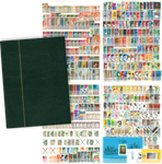 Suriname - 1000 different stamps - In stockbook