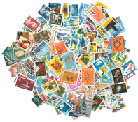 Curacao - Paquet de timbres - 300 différents