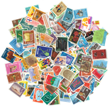 Curacao - Paquet de timbres - 200 différents