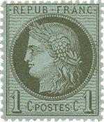 Frankrig - 1872 - YT 50 - Postfrisk