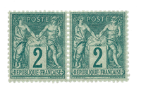 Frankrig - 1876 - YT 74 - Postfrisk