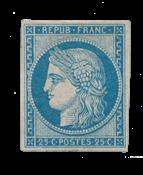 France - 1850 - Y&T 4d, neuf avec charnière