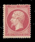 France - 1862 - Y&T 24, neuf avec charnière