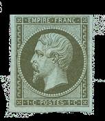 France - 1860 -  Y&T 11, neuf avec charnière