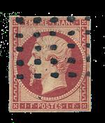 France - 1853 - Y&T 18, oblitéré
