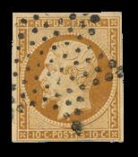 France - 1852 - Y&T 9, oblitéré