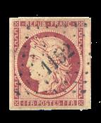 France - 1850 - Y&T 6b, oblitéré
