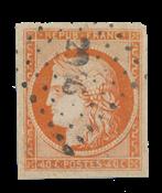 France - 1850 - Y&T 5, oblitéré