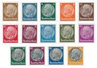 Tyske Rige - 1933 - Michel 482-495 - Postfrisk