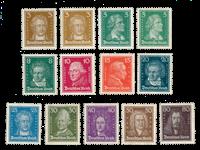 Empire Allemand - 1926 - Michel 385/397, neuf