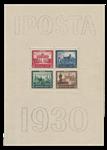 Empire Allemand - 1930 - Michel Block 1, neuf