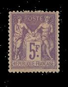 Frankrig - 1877 - YT 95 - Postfrisk med hængsler