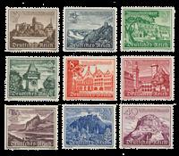 Empire Allemand - 1939 -  Michel 730/38, neuf avec  charnière