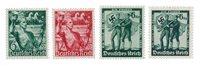 Tyske Rige - 1938 -  Michel 660-61 en 662-63 - Ubrugt