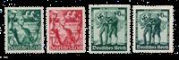 Empire Allemand - 1938 -  Michel 660/61 en 662/63,  neuf avec charnière