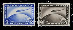Empire Allemand - 1928 -  Michel 423/24, neuf avec  charnière