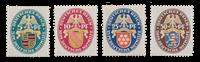 Duitse Rijk - 1926 -  Michel 398-401 - Ongebruikt
