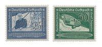 Empire Allemand - 1938 -  Michel 669/70, neuf avec  charnière