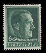 Tyske Rige - 1938 -  Michel 672 - Ubrugt