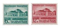 Empire Allemand - 1938 -  Michel 673/74, neuf avec  charnière