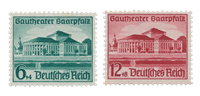 German Empire - 1938 -  Michel 673/74, unused