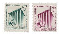 Tyske Rige - 1939 -  Michel 692-93 - Ubrugt