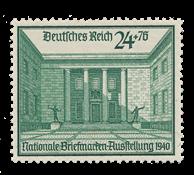 Tyske Rige - 1940 -  Michel 743 - Ubrugt
