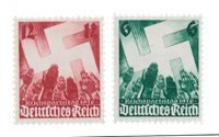 Tyske Rige - 1936 -  Michel 632-33 - Postfrisk
