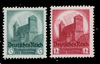 Empire Allemand - 1934 -  Michel 546/47, neuf