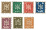 Empire Allemand - 1924 -  Michel 355/61, neuf
