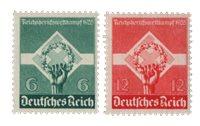Duitse Rijk - 1935 -  Michel 571-72 - Postfris