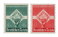 Deutsches Reich - 1935 - Michel 571-72 - Postituoreena