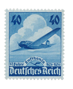 Deutsches Reich - 1936 - Michel 603 - Postituoreena