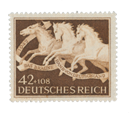 Deutsches Reich - 1942 - Michel 815 - Postituoreena