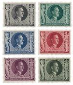Empire Allemand - 1943 -  Michel 844/849, neuf