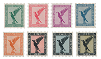 Duitse Rijk - 1926 -  Michel 378-84 - Ongebruikt